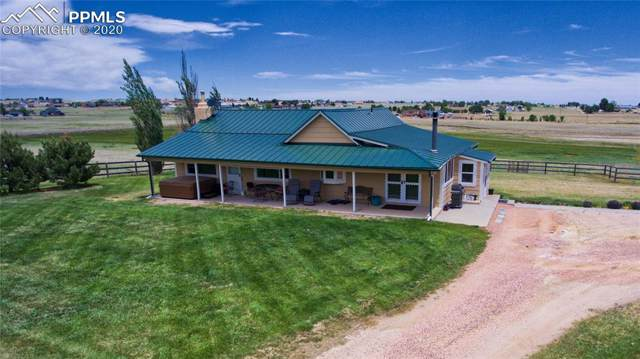 13025 Falcon Highway, Peyton, CO 80831 (#3553464) :: The Peak Properties Group