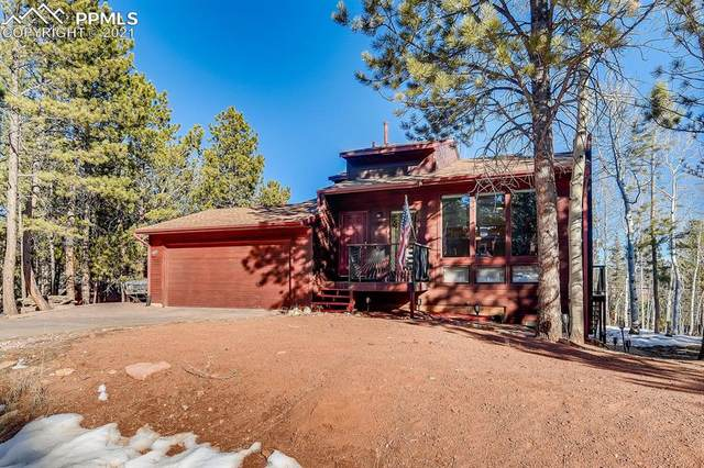 1250 Northwoods Drive, Woodland Park, CO 80863 (#3556280) :: The Dixon Group