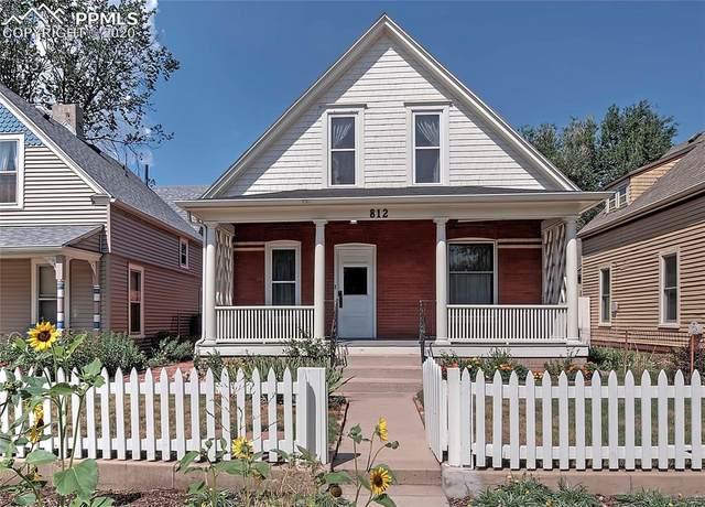 812 N Corona Street, Colorado Springs, CO 80903 (#3562414) :: Tommy Daly Home Team