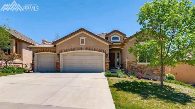 13835 Firefall Court, Colorado Springs, CO 80921 (#3570837) :: The Hunstiger Team