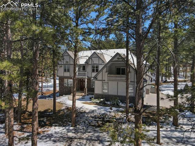 718 Piney Ridge Way, Monument, CO 80132 (#3606862) :: Finch & Gable Real Estate Co.