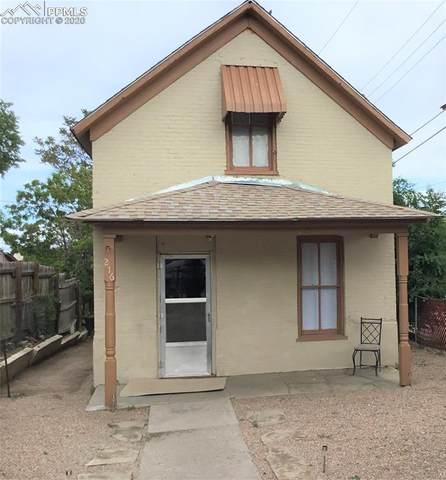 216 N Bradford Street, Pueblo, CO 81003 (#3610921) :: Jason Daniels & Associates at RE/MAX Millennium