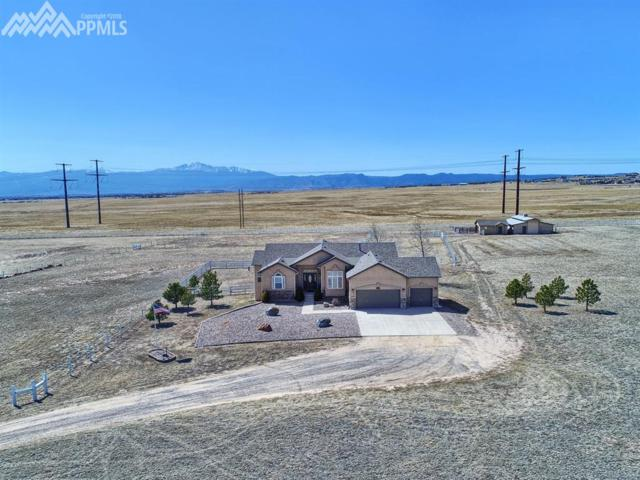 9184 Towner Avenue, Peyton, CO 80831 (#3611257) :: Action Team Realty