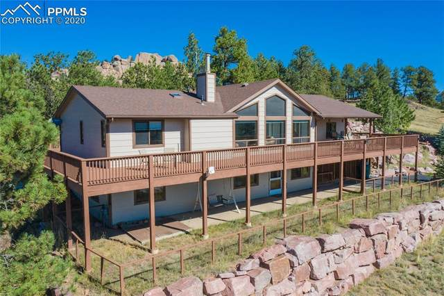 195 Hackamore Drive, Florissant, CO 80816 (#3640736) :: The Treasure Davis Team