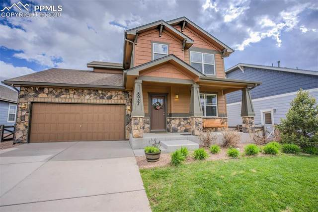 8057 Buckeye Tree Lane, Colorado Springs, CO 80927 (#3647511) :: The Treasure Davis Team