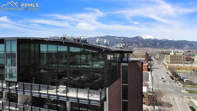 417 E Kiowa Street #1205, Colorado Springs, CO 80903 (#3649657) :: Venterra Real Estate LLC