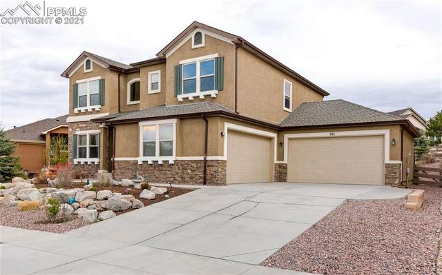 261 Coyote Willow Drive, Colorado Springs, CO 80921 (#3653751) :: The Kibler Group