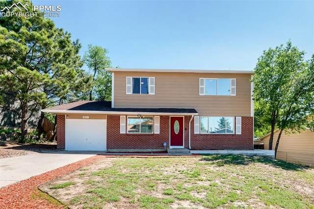 2215 Pepperwood Drive, Colorado Springs, CO 80910 (#3660531) :: The Treasure Davis Team   eXp Realty