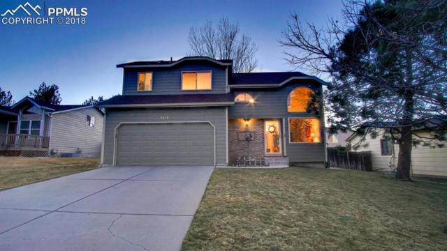 2810 Haystack Drive, Colorado Springs, CO 80922 (#3678450) :: The Hunstiger Team