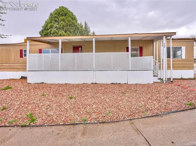 3405 Sinton Road #77, Colorado Springs, CO 80907 (#3685625) :: Fisk Team, RE/MAX Properties, Inc.
