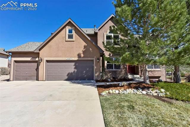 5571 Vantage Vista Drive, Colorado Springs, CO 80919 (#3722609) :: The Treasure Davis Team
