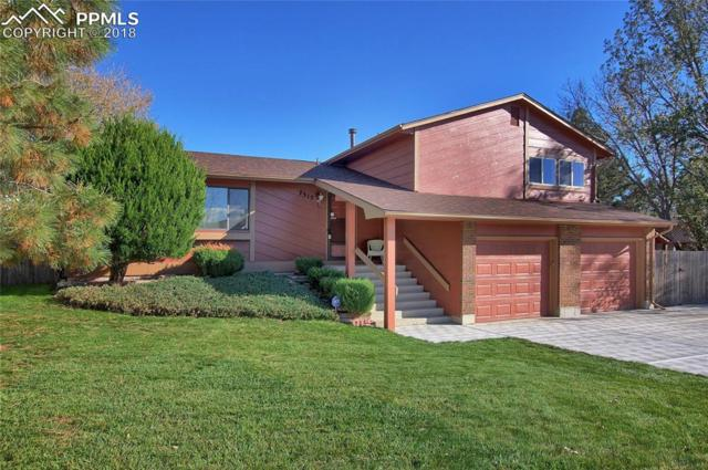 7515 Cabin Ridge Drive, Colorado Springs, CO 80911 (#3723997) :: The Hunstiger Team