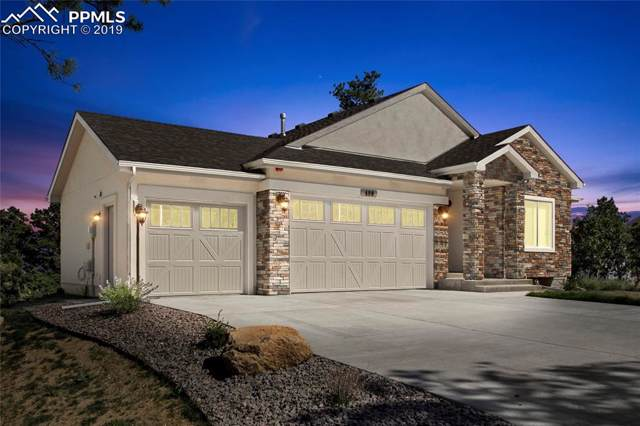 498 Mountain Pass View, Colorado Springs, CO 80906 (#3725407) :: CC Signature Group