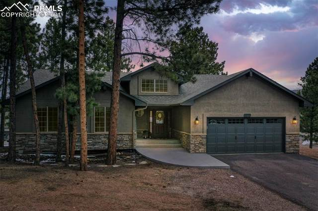 1415 Evergreen Heights Drive, Woodland Park, CO 80863 (#3728276) :: HomeSmart