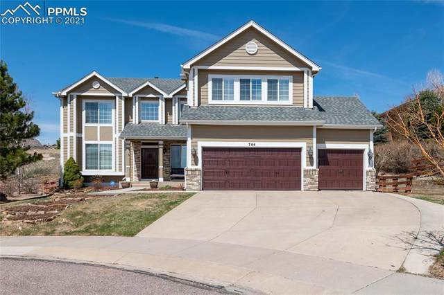 764 Fox Run Circle, Colorado Springs, CO 80921 (#3747068) :: Venterra Real Estate LLC
