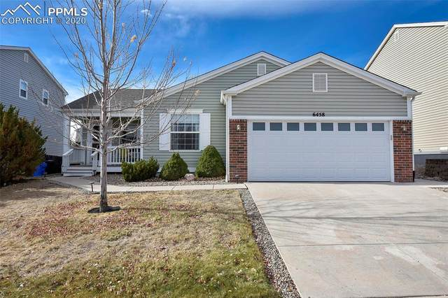 6458 Ferndale Drive, Colorado Springs, CO 80923 (#3762537) :: The Kibler Group