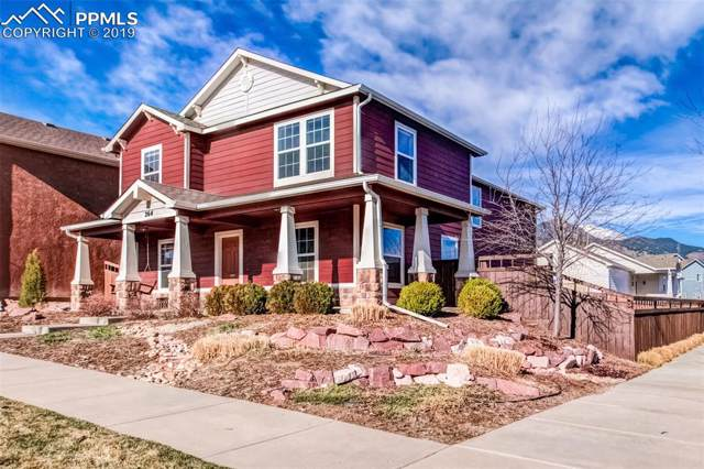 264 Millstream Terrace, Colorado Springs, CO 80905 (#3770630) :: Tommy Daly Home Team
