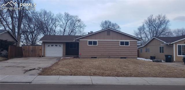 513 Rose Drive, Colorado Springs, CO 80911 (#3784130) :: The Hunstiger Team