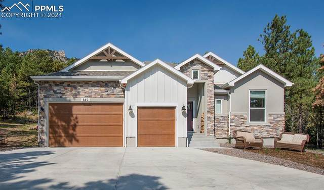 640 High Lonesome View, Colorado Springs, CO 80906 (#3800689) :: The Gold Medal Team with RE/MAX Properties, Inc