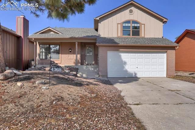 4368 Neal Court, Colorado Springs, CO 80916 (#3801608) :: CC Signature Group