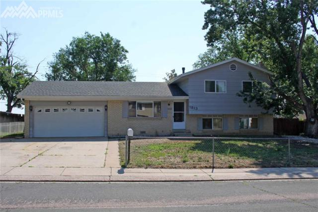 1813 Kodiak Drive, Colorado Springs, CO 80910 (#3807324) :: The Peak Properties Group