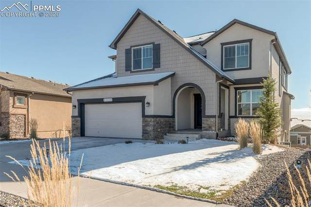 4145 New Santa Fe Trail, Colorado Springs, CO 80924 (#3809882) :: Action Team Realty