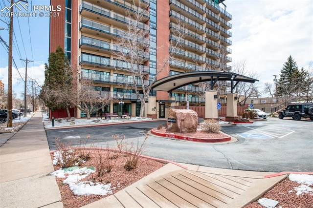 417 E Kiowa Street #905, Colorado Springs, CO 80903 (#3817262) :: The Gold Medal Team with RE/MAX Properties, Inc
