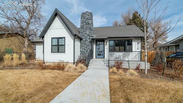 814 E Columbia Street, Colorado Springs, CO 80907 (#3819867) :: Tommy Daly Home Team