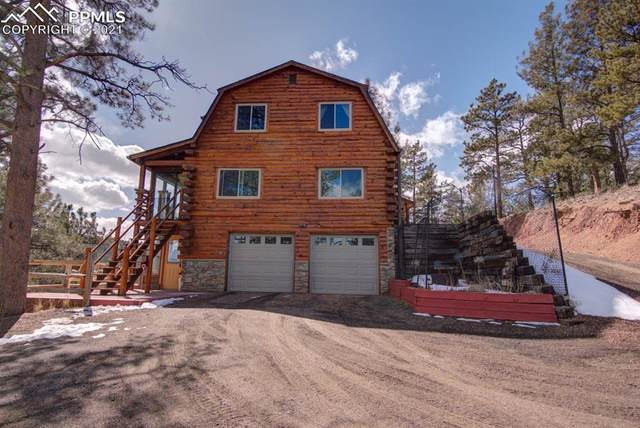 118 Coyote Trail, Woodland Park, CO 80863 (#3826529) :: The Cutting Edge, Realtors