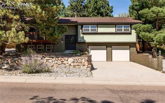 480 Allegheny Drive, Colorado Springs, CO 80919 (#3849408) :: The Treasure Davis Team   eXp Realty