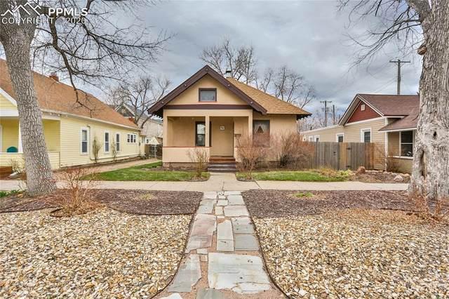 223 E Monument Street, Colorado Springs, CO 80903 (#3849842) :: The Kibler Group
