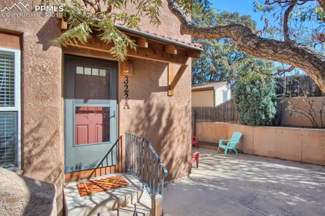 322 Santa Fe Place A, Manitou Springs, CO 80829 (#3852245) :: The Treasure Davis Team