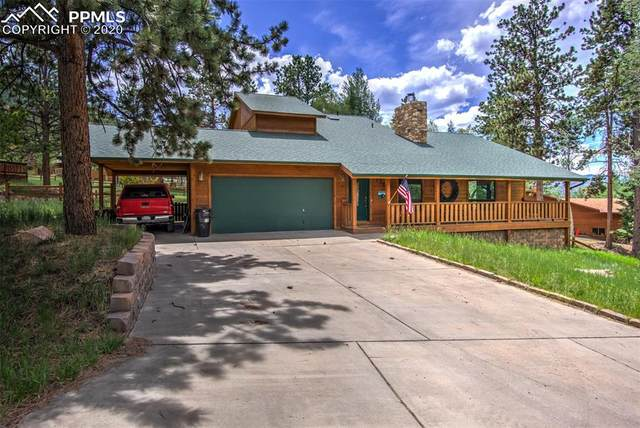 1205 Telemark Drive, Woodland Park, CO 80863 (#3855253) :: Finch & Gable Real Estate Co.
