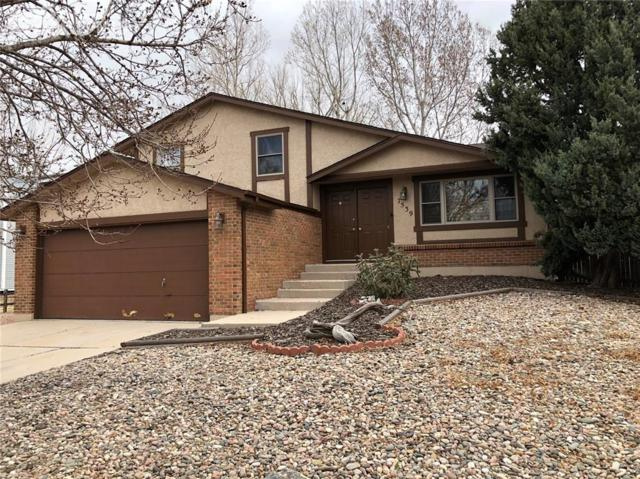 7539 Red Mountain Drive, Colorado Springs, CO 80920 (#3856815) :: The Hunstiger Team