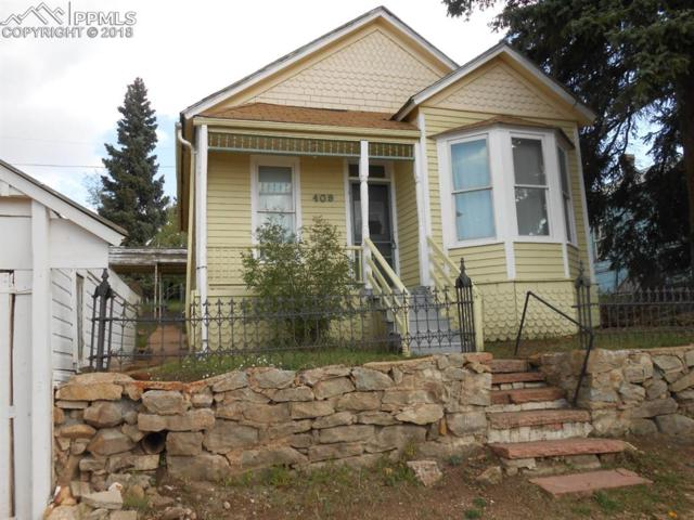 409 E Carr Avenue, Cripple Creek, CO 80813 (#3867046) :: Harling Real Estate