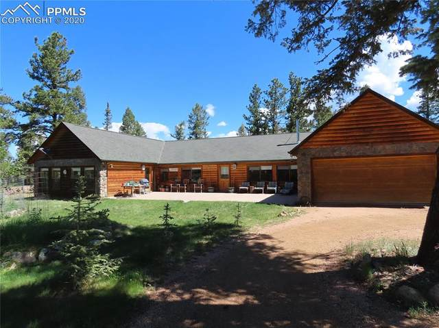 1324 Upper Twin Rocks Road, Florissant, CO 80816 (#3884585) :: Finch & Gable Real Estate Co.