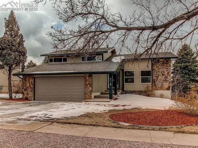3076 Oro Blanco Drive, Colorado Springs, CO 80917 (#3914506) :: The Hunstiger Team