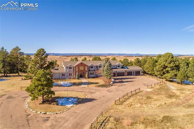 11509 E Palmer Divide Avenue, Larkspur, CO 80118 (#3958395) :: The Harling Team @ Homesmart Realty Group