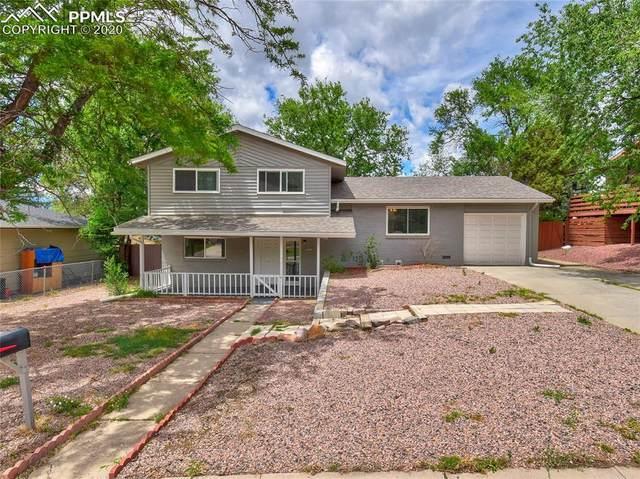 1624 Shenandoah Drive, Colorado Springs, CO 80910 (#4015023) :: The Treasure Davis Team