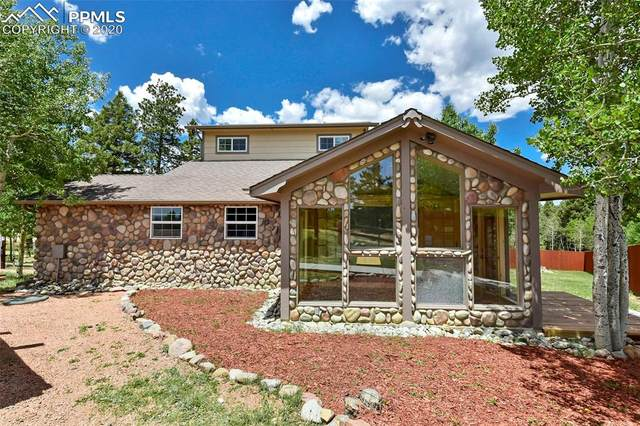 1625 N Mountain Estates Road, Florissant, CO 80816 (#4018104) :: The Treasure Davis Team
