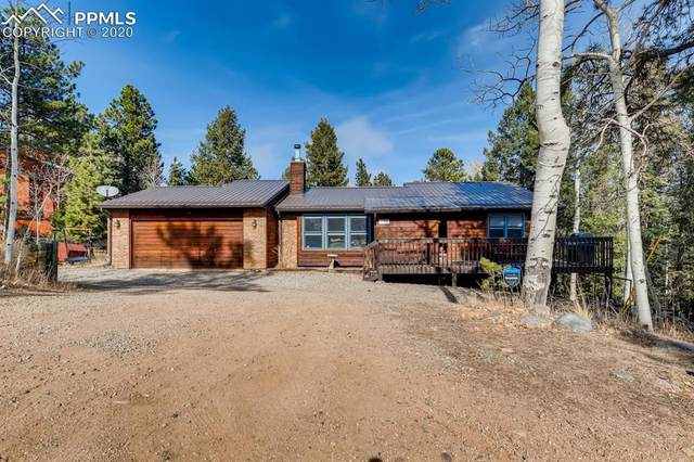 96 Aspen Drive, Woodland Park, CO 80863 (#4028436) :: The Kibler Group