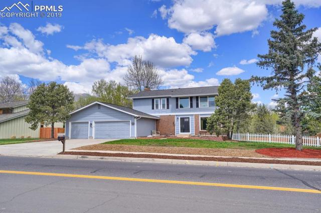324 W Cheyenne Mountain Boulevard, Colorado Springs, CO 80906 (#4033107) :: The Kibler Group
