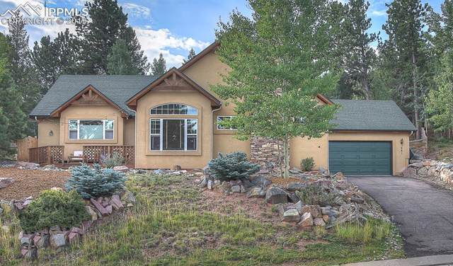 661 Misty Pines Circle, Woodland Park, CO 80863 (#4051498) :: The Daniels Team