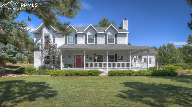 640 Paint Brush Lane, Monument, CO 80132 (#4053667) :: Tommy Daly Home Team