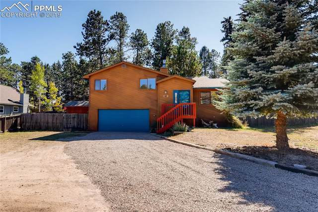 107 W Circle Drive, Woodland Park, CO 80863 (#4065359) :: Tommy Daly Home Team