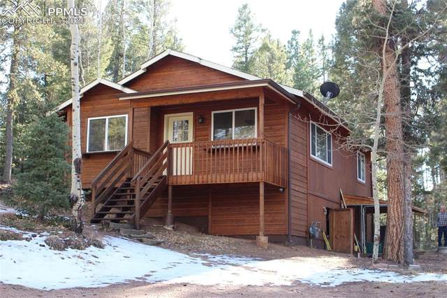 2740 N Mountain Estates Road, Florissant, CO 80816 (#4106398) :: The Dixon Group