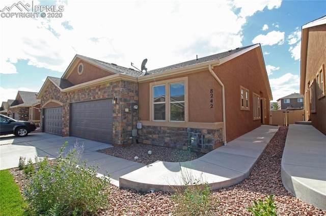 8242 Potentilla Grove, Colorado Springs, CO 80908 (#4107986) :: The Treasure Davis Team