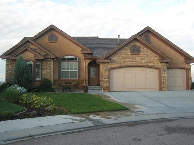2341 Limerick Court, Colorado Springs, CO 80921 (#4109495) :: The Treasure Davis Team
