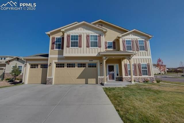 8407 Caddis Court, Colorado Springs, CO 80924 (#4112098) :: The Kibler Group