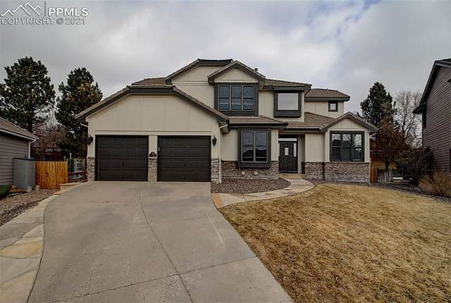 7455 Fairway Lane, Parker, CO 80134 (#4133334) :: The Dixon Group
